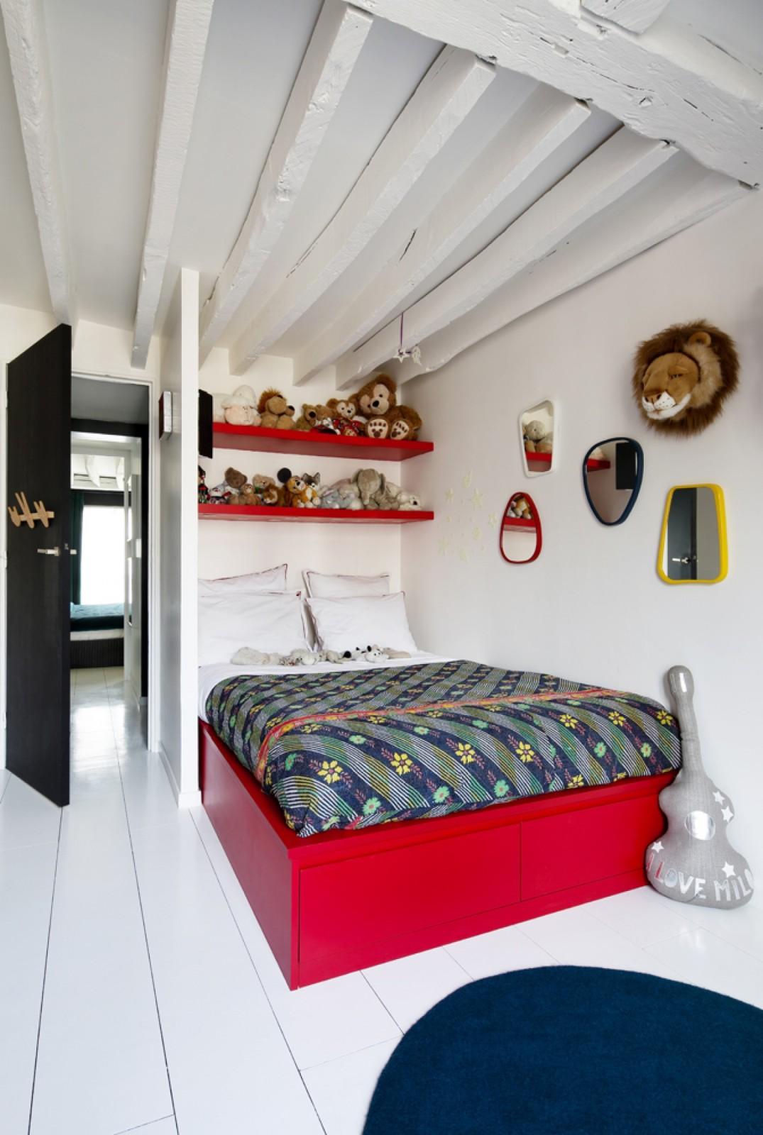 le nouveau duplex de sarah lavoine. Black Bedroom Furniture Sets. Home Design Ideas