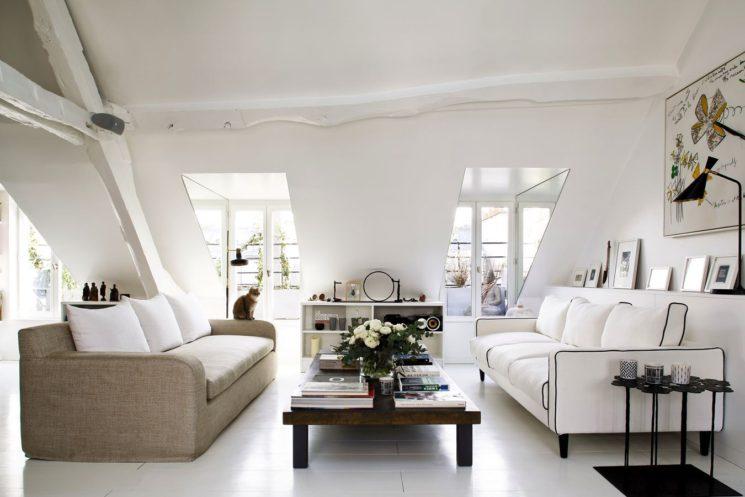 Le duplex de Sarah Lavoine -Paris