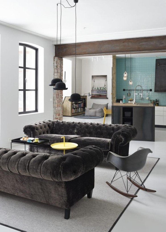 L 39 appartement le plus cool de la ville for Deco british style