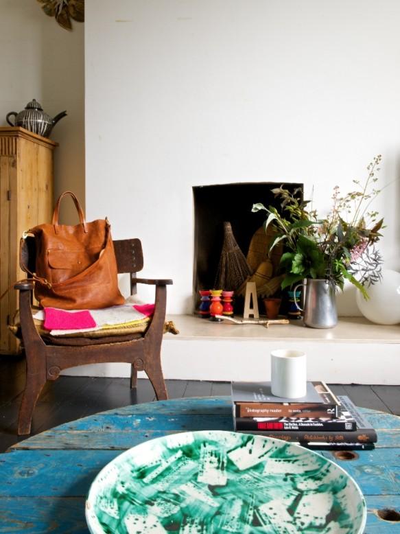 L'intérieur coloré de la créatrice de sac Ally Cappelino à Londres