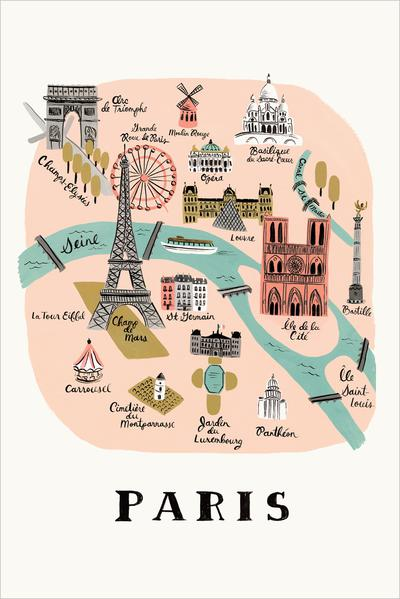 Rifle paper&co - Design Anna-Bond - Paris