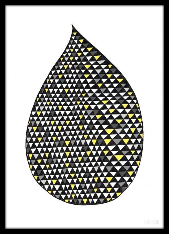 Seventy tree - Big Drop Mono