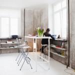 Minimalisme brut pour ce studio moscovite