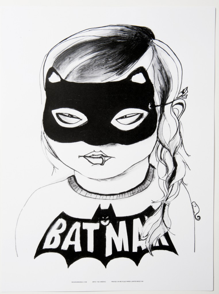 Mini and Maximus Batgirl poster