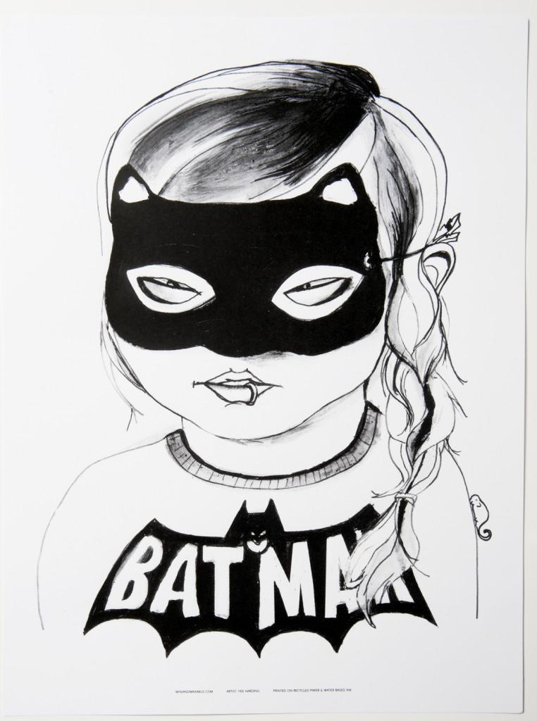 Mini and Maximus Batgirl poster