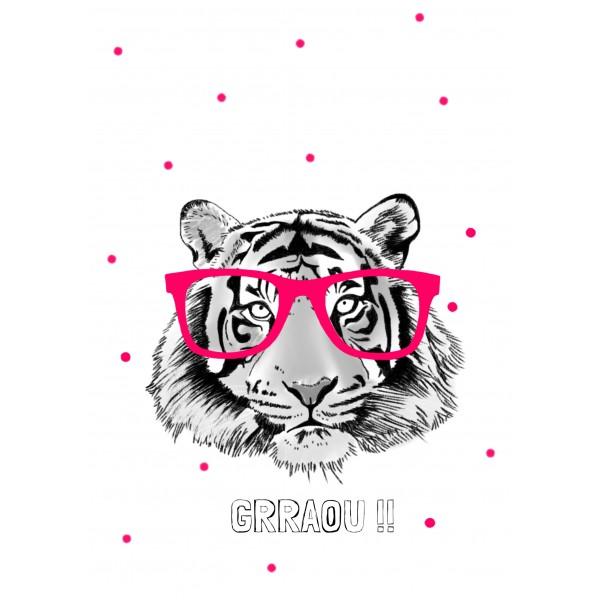 Minimel - Tigre à lunettes