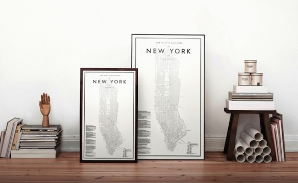New-York map by my guide to