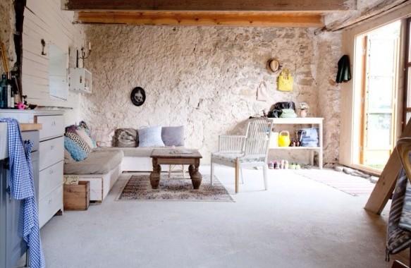 Une maison de vacances joliement rustique