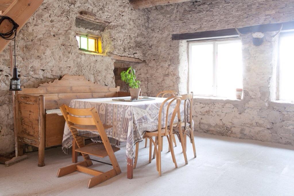 Une maison de vacances joliment rustique d'Amelia Widell sur l'île de Gotdland