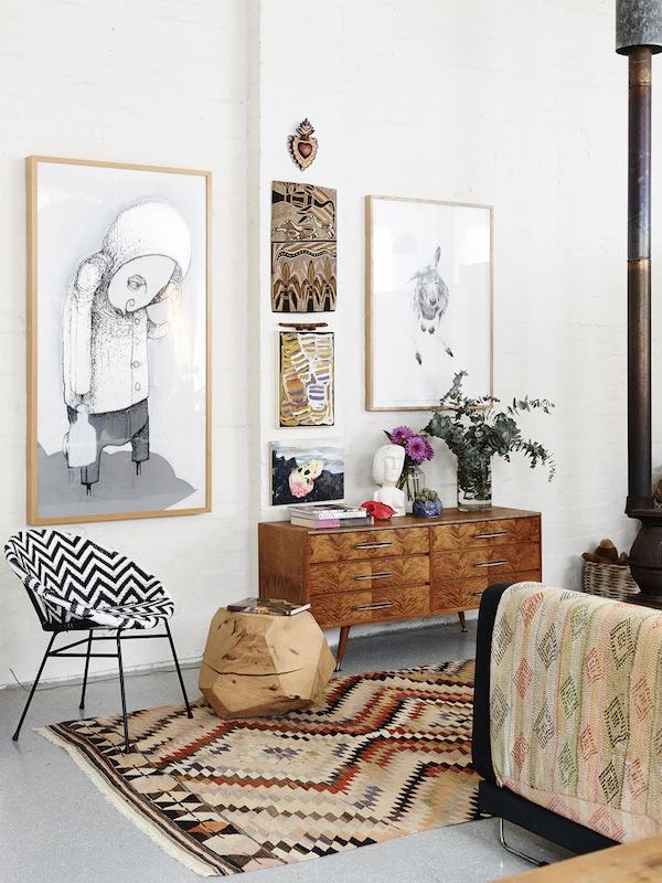 Le loft de Carla Fletcher & Brett Langsford à Melbourne