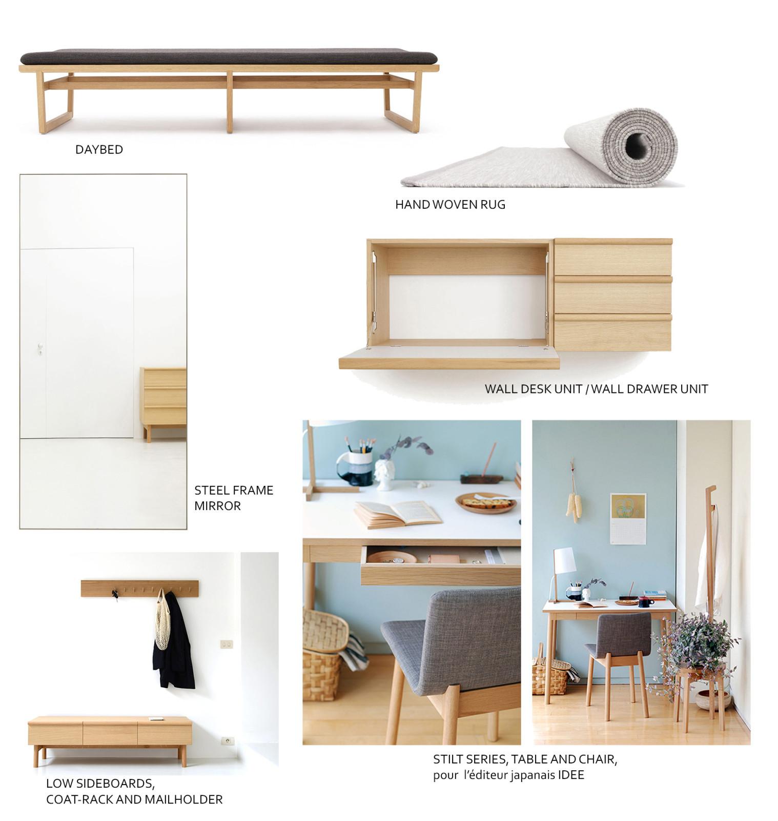 Marina Bautier design furniture