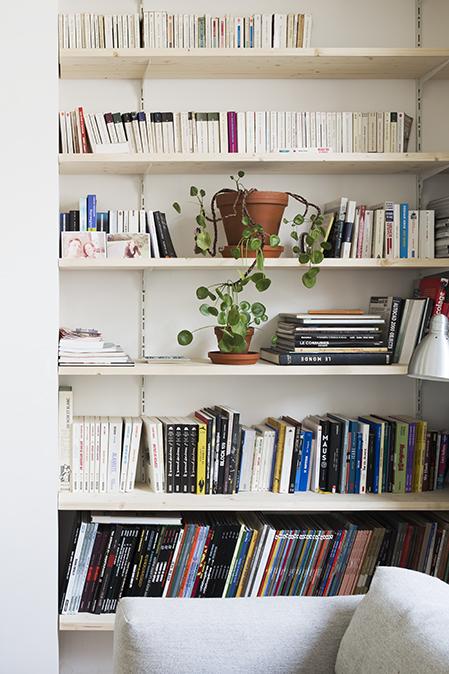 L'intérieur de la designer belge Marina Bautier