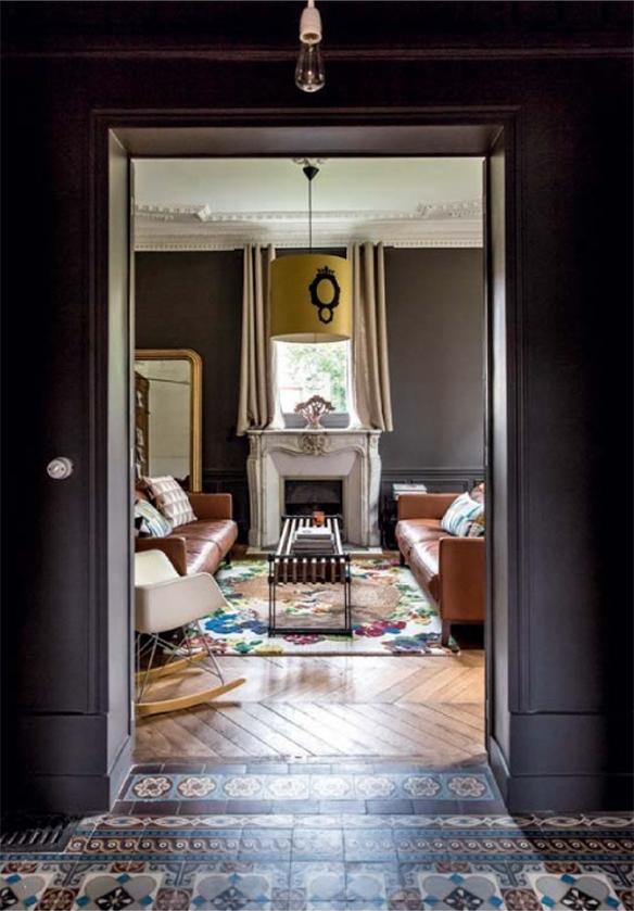 Royal roulotte maison famille sous influence boh me chic turbulences d co - Table maison de famille ...