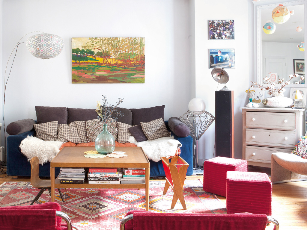 Bazar chic pour cet appartement parisien for Deco in paris