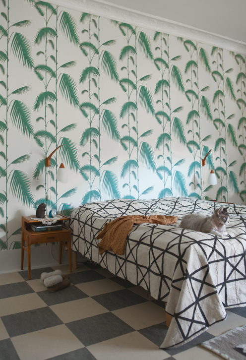 """Papier-peint """"Palm Leaves"""", collection """"Contempory 1"""" - Cole&son"""