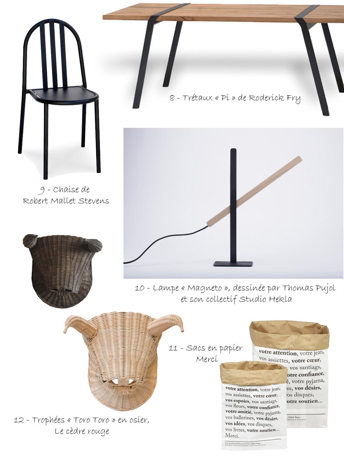 La sélection design de Margaux Beja et Thomas Pujol