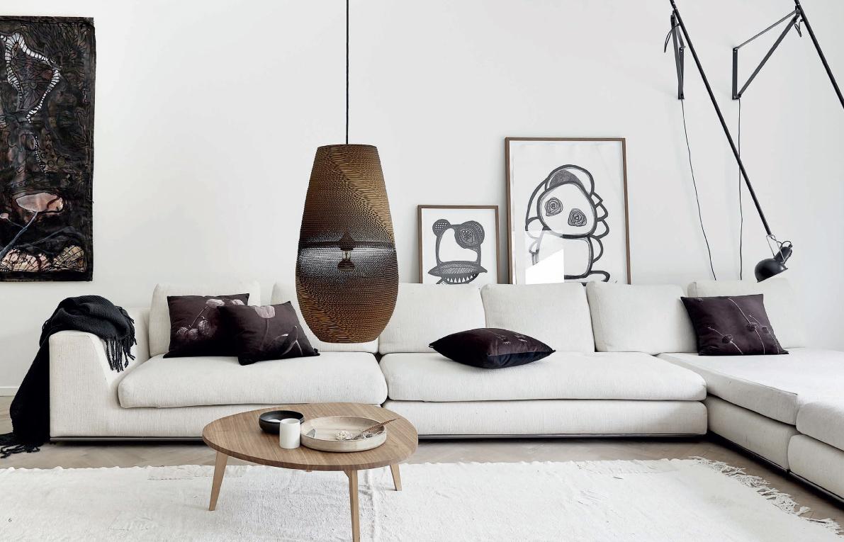 Tapis salon scandinave: ,une decoration eco responsable c est ...