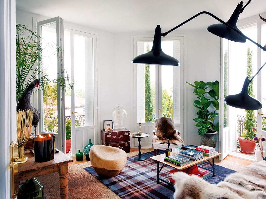Un appartement pittoresque dans le vieux madrid for Decoration appartement