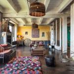 Un loft raw luxe à Portland