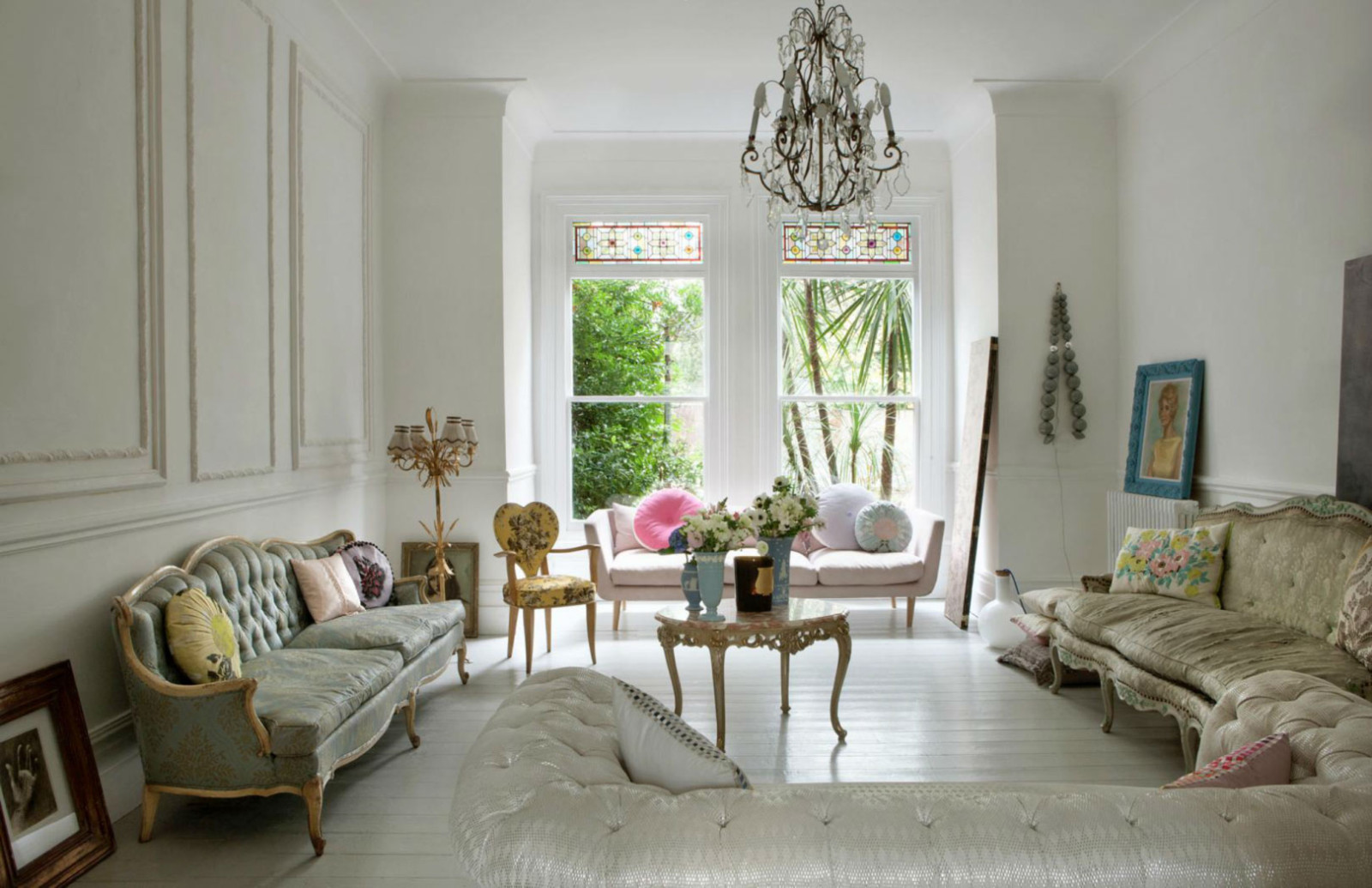 Mapesbury road chez la styliste anglaise marianne cotterill - Decoration interieur anglais ...