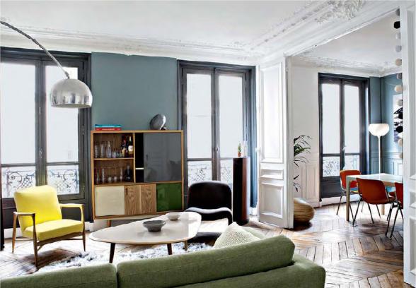 D sign salon haussmanien for Deco appartement olivia pope