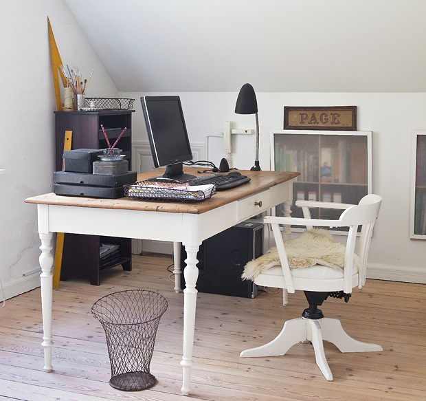 Style shabby-industriel - Annette home via Boligpluss