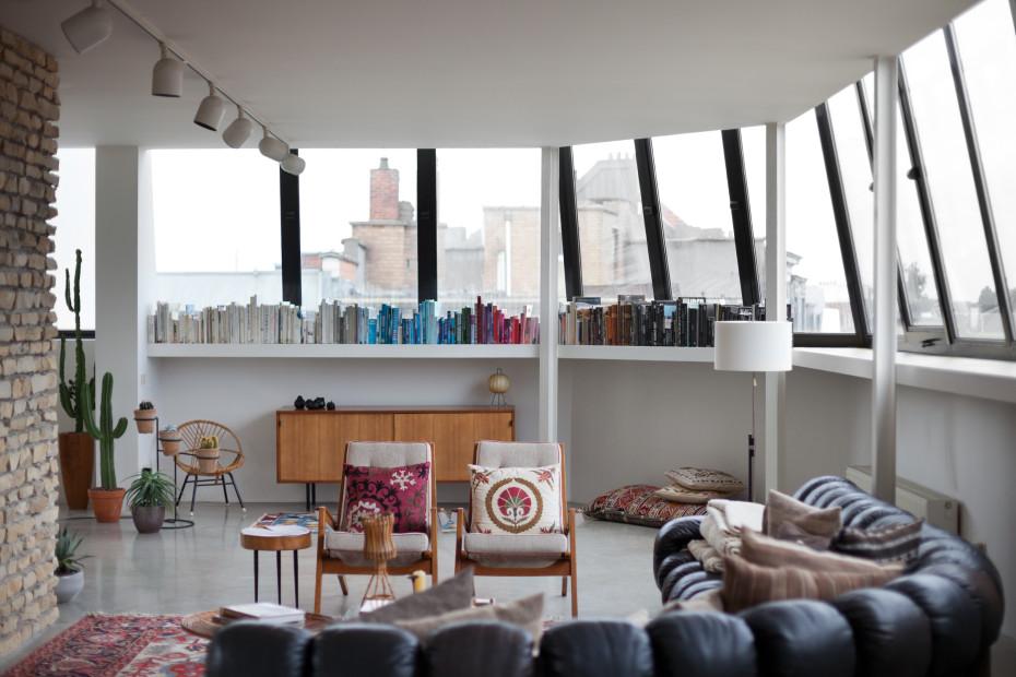 l 39 appartement aux accents vintage de bruno pieters. Black Bedroom Furniture Sets. Home Design Ideas