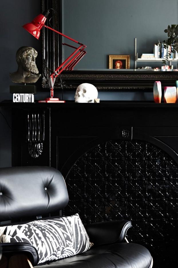 Osez les couleurs noires en déco | Art of Darkness by Chealsea Hing - Australia