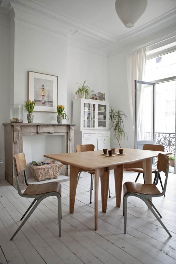Style shabby-industriel - Justine Glandfield home via Milk magazine