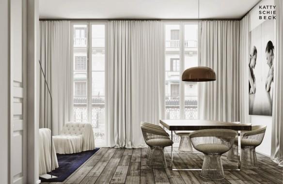 Katty Schiebeck - Barcelone apartment