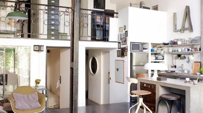L 39 appart masculin f minin d 39 une styliste de mode for Acheter un loft en region parisienne