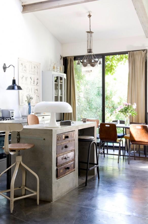 Un loft parfait en r gion parisienne for Loft a renover region parisienne