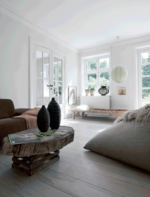 Le style rustique rustique contemporain || Camilla Lemche suedish house farm