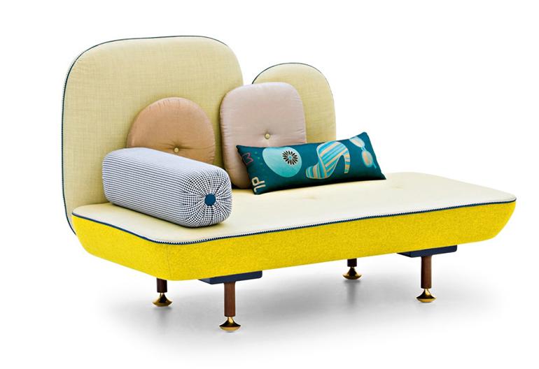Canapé My Beautiful Backside - Editeur : Moroso - Design : Jonathan Levien & Nipa Doshi