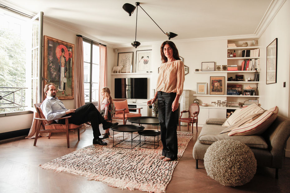 Appartement parisien sous influence ethnique