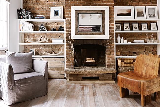 Le style rustique rustique contemporain || Claire Tregoning home - Australia