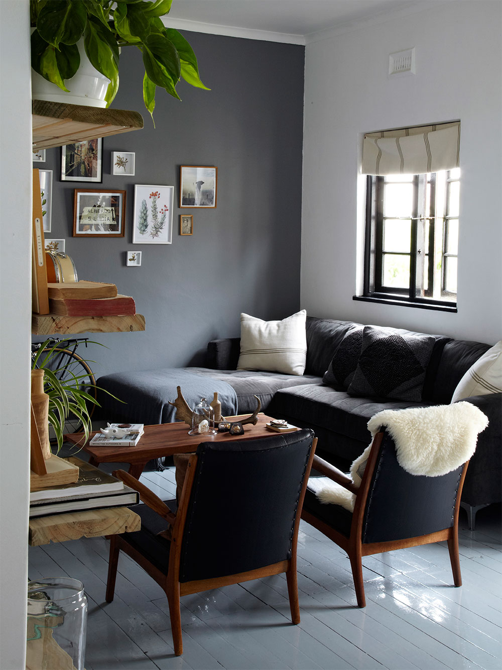 Petite surface toute en tonalité de gris à Cap Town