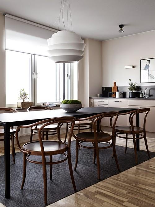 Liljeholmskajen apartment - Pella Hedeby et Marie Ramse styling pour JM