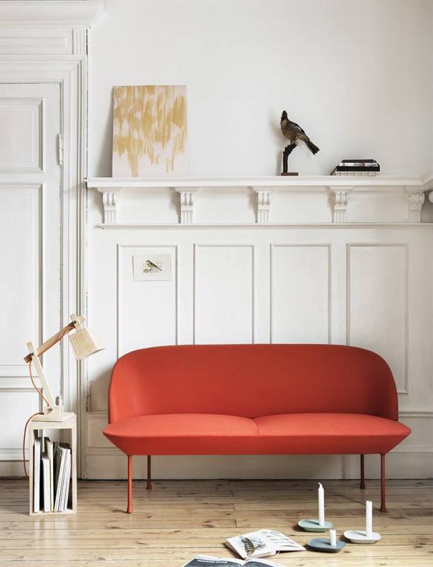 Canapé Oslo - Editeur Muuto - Design : Anderssen & Voll