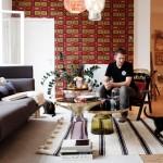 L'intérieur du designer Sebastian Herckner