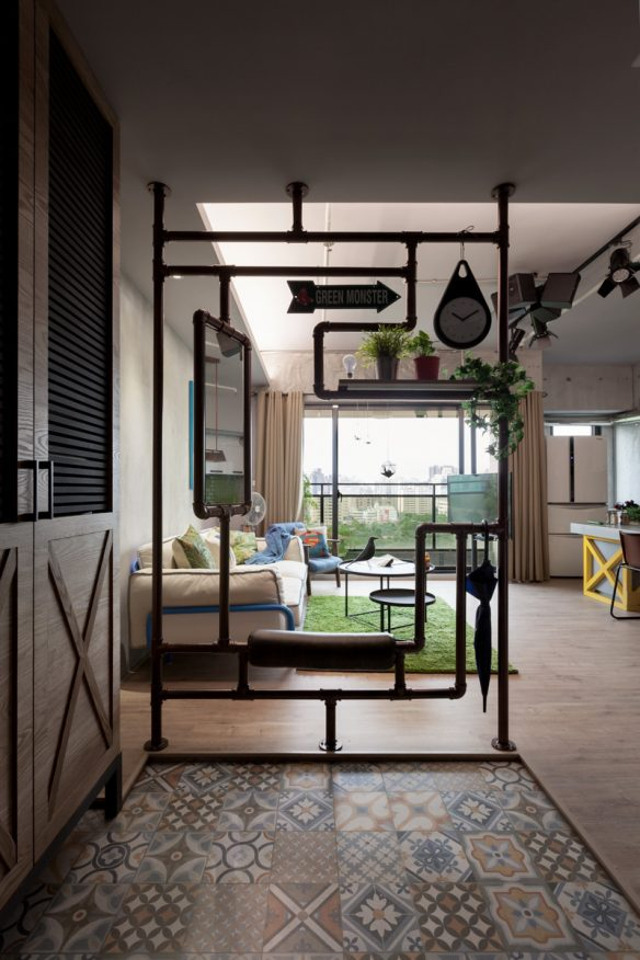 Yvan Chen home - The Polish studio - Taiwan