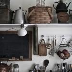 Le charme d'une cuisine rustique