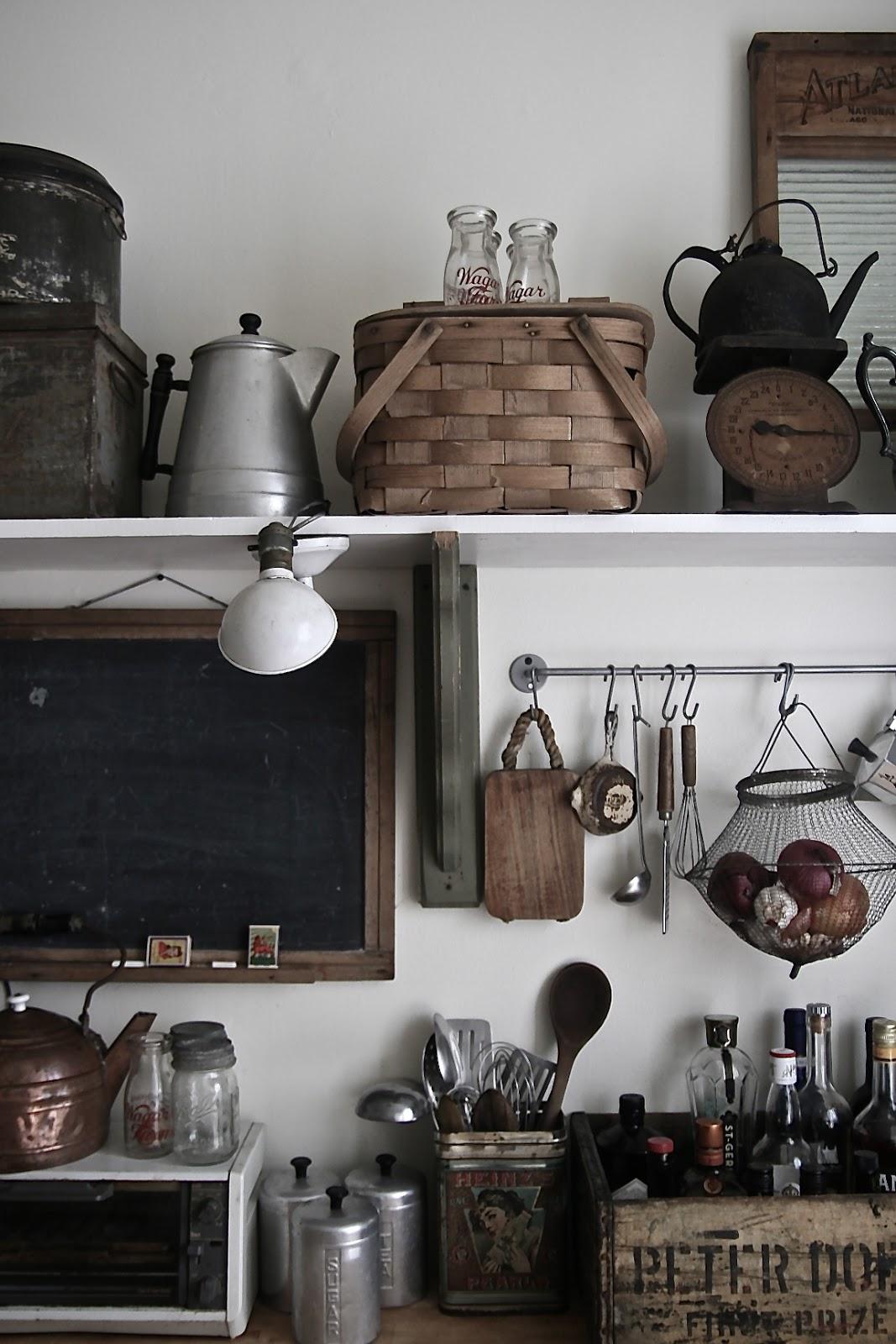 Inspiration : Le charme d'une cuisine rustique