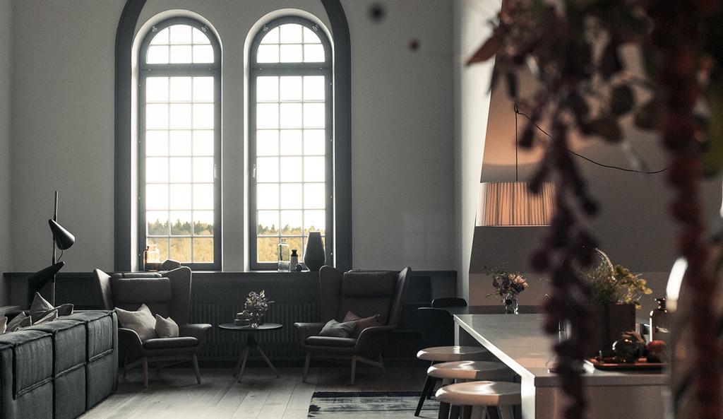 Deux duplex incroyables à Stokholm