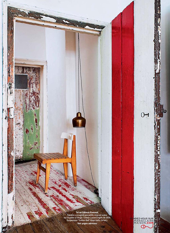 L'intérieur de Frederic Hooft à Gand - Une déco brute