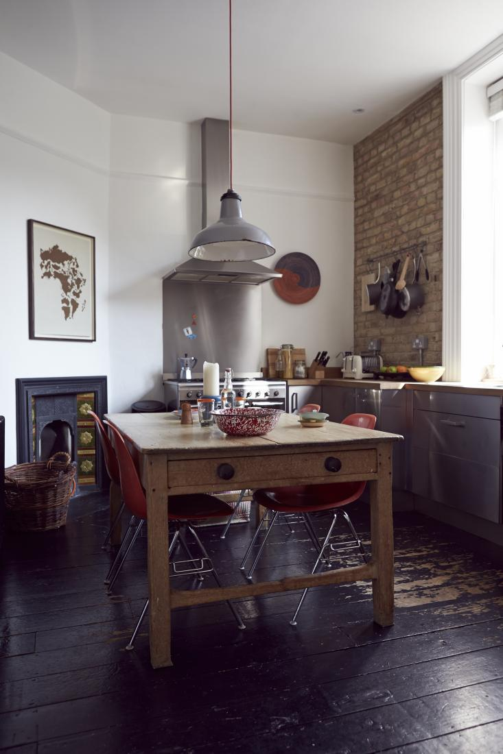 Le charme d'une cuisine rustique | COld vicarage via jjlocation