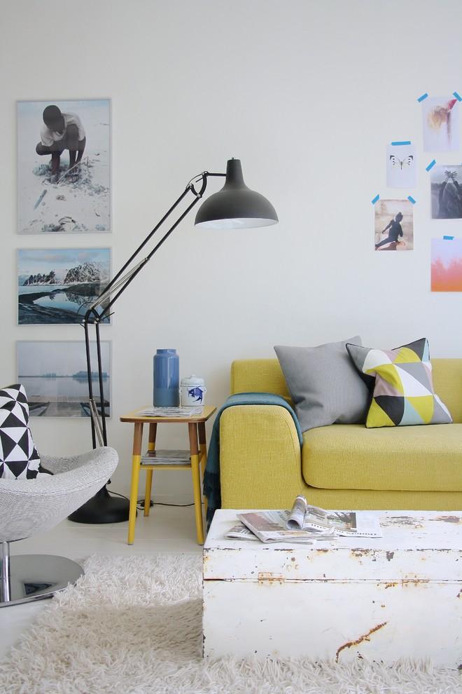 Le choix du bleu La maison d'Aafke Kauffman à La Haye