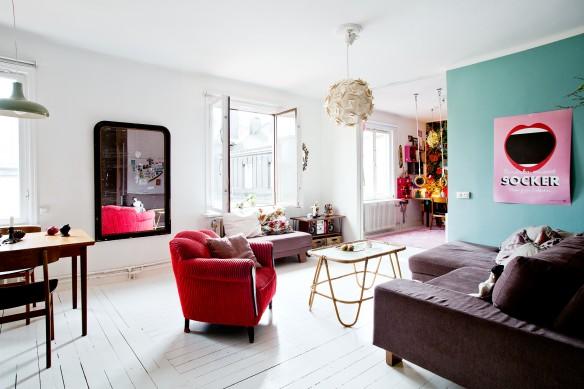 L'ancien appartement d'Isabelle-McAllister, délire bohème et sobriété scandinave