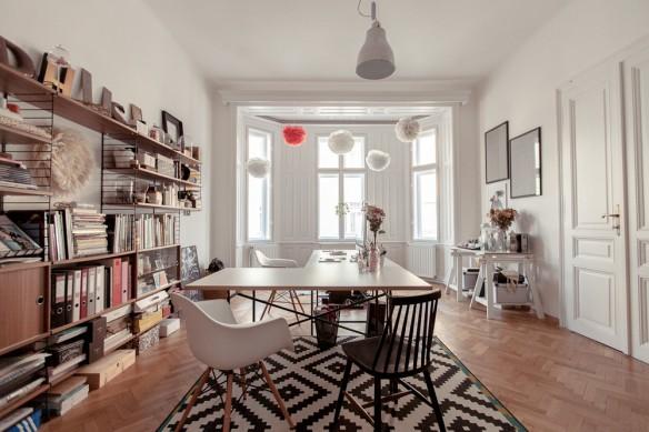 L 39 appartement atelier de laura karasinski - Decoration style atelier ...