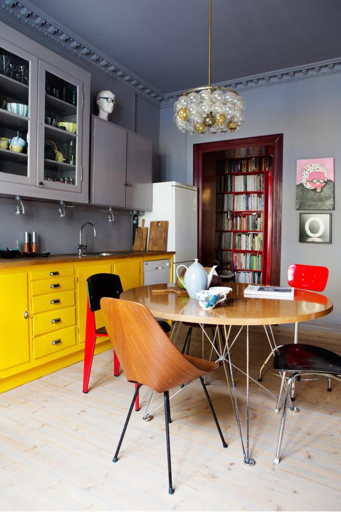 Relooker sa cuisine : repeindre les placards || Synne Skjulstad appartement